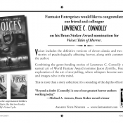 Stoker Program Book Ad