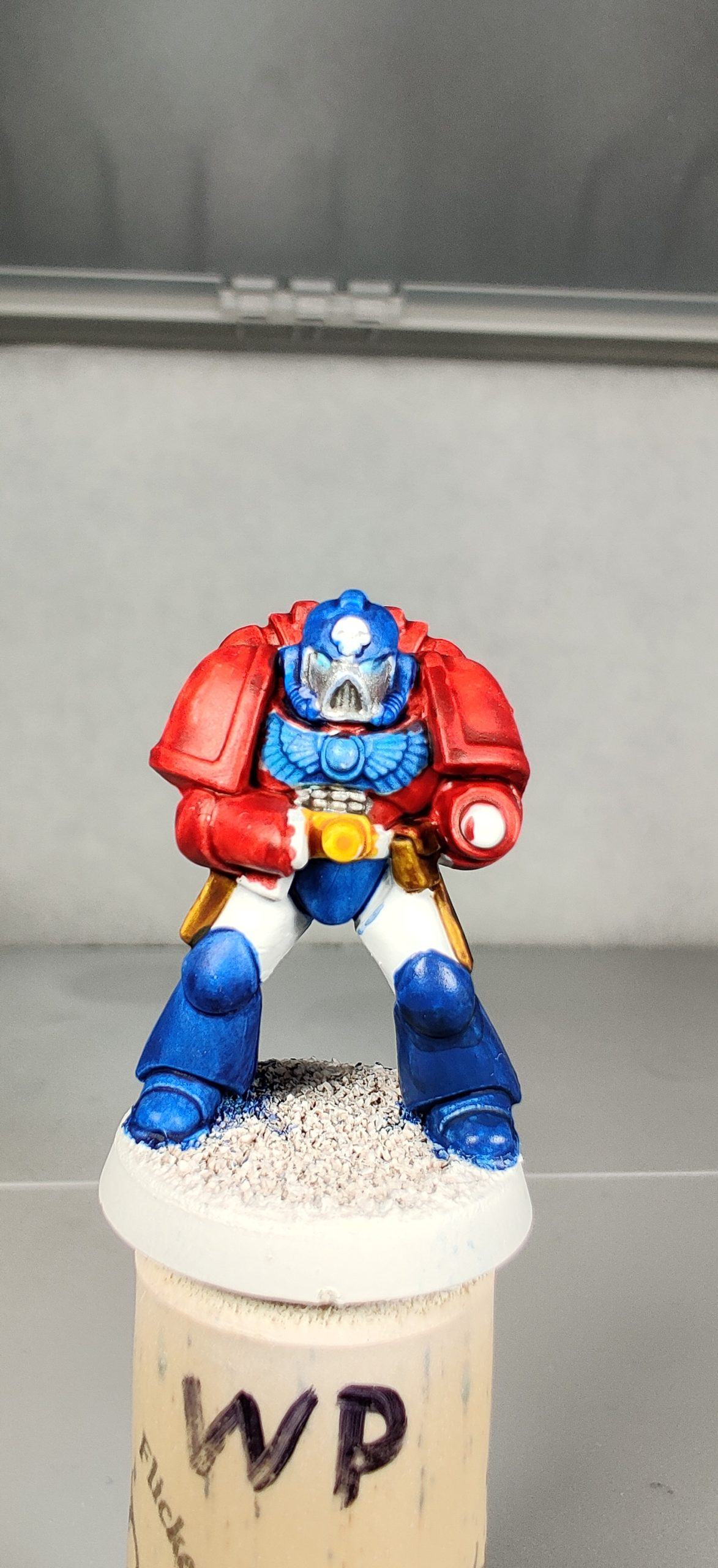 Second Fists of the Prime Marine test model.
