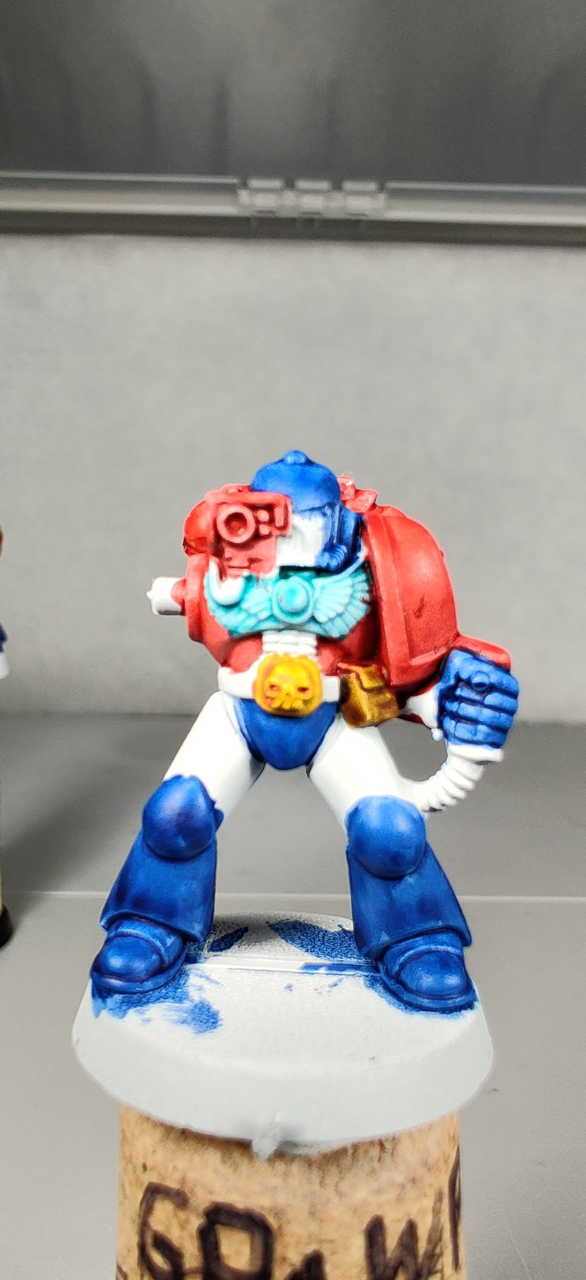 Third Fists of the Prime Marine test model.