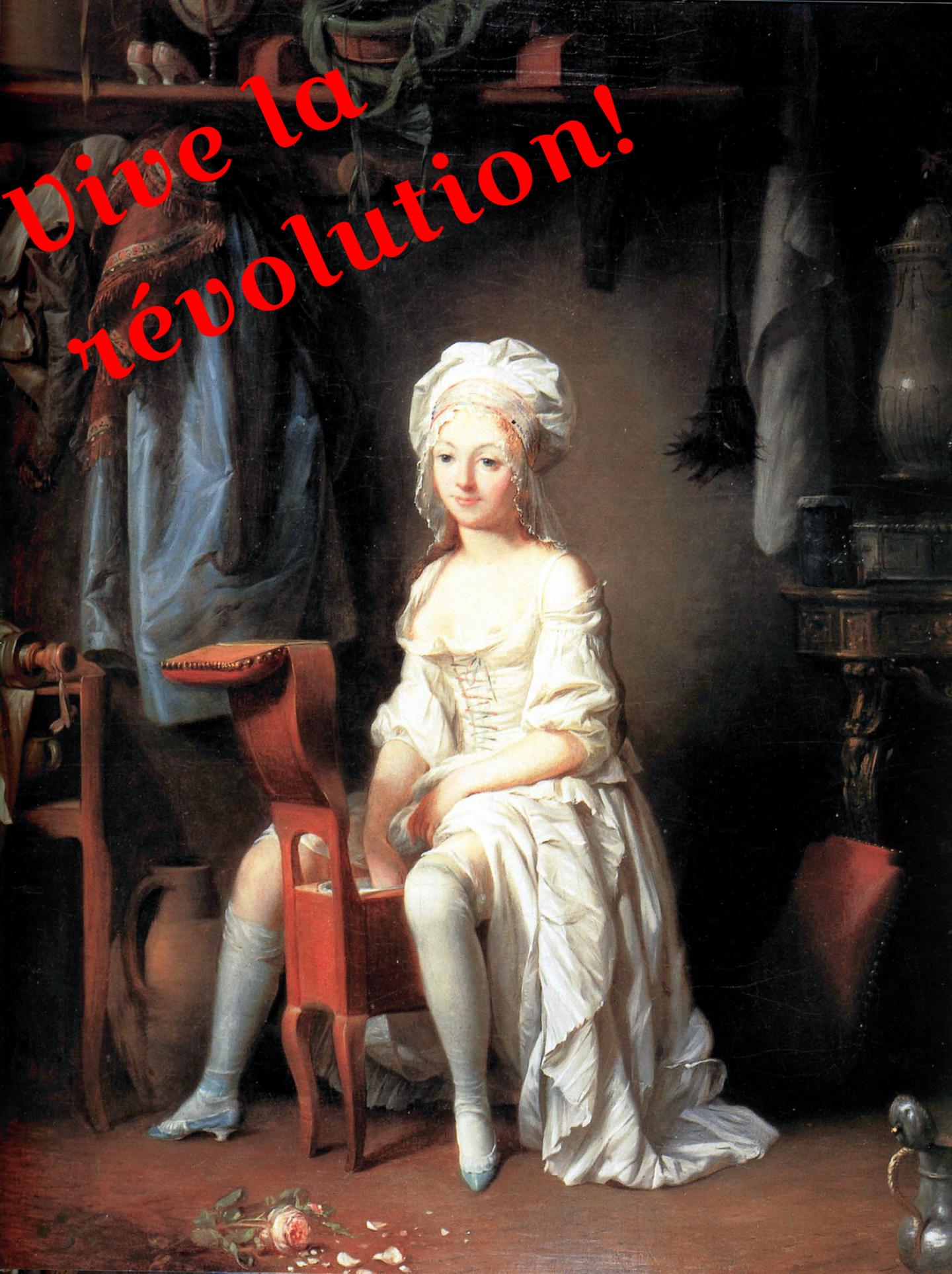 Painting: La Toilette intime ou la Rose effeuillée